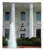 Getting Close To The White House Fleece Blanket