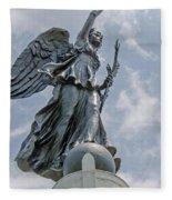 Gettysburg Angel 2 Fleece Blanket