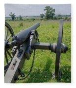 Gettysburg Cannon 2  Fleece Blanket