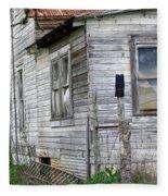 Ghost House Fleece Blanket