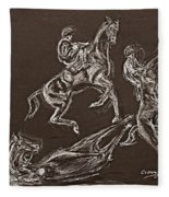 Ghost Riders In The Sky Fleece Blanket