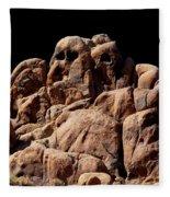 Ghost Rocks Or Ghosts Rock Fleece Blanket