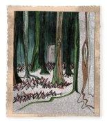 Ghost Stories Forest Graveyard By Jrr Fleece Blanket