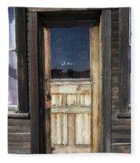 Ghost Town Handcrafted Door Fleece Blanket