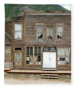 Ghost Town Of Saint Elmo Fleece Blanket