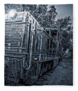 Ghost Train Fleece Blanket