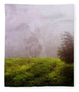 Ghost Tree In The Haunted Forest. Nuwara Eliya. Sri Lanka Fleece Blanket
