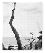Ghost Tree Site Fleece Blanket