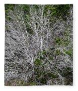 Ghost Trees Fleece Blanket