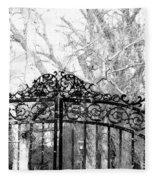 Ghosted Gateway Fleece Blanket