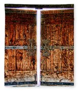 Ghostly Doors By Diana Sainz Fleece Blanket