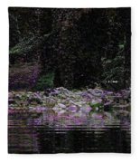 Ghosts In Twilight Fleece Blanket
