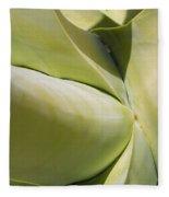 Giant Agave Abstract 9 Fleece Blanket