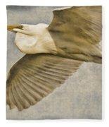 Giant Beauty In Flight Fleece Blanket