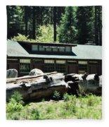 Giant Forest Museum Fleece Blanket