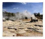 Giant Geyser Group Fleece Blanket