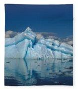 Giant Ice Floes Fleece Blanket