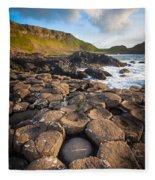 Giant's Causeway Circle Of Stones Fleece Blanket