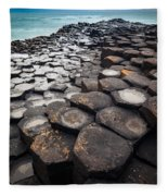 Giant's Causeway Hexagons Fleece Blanket