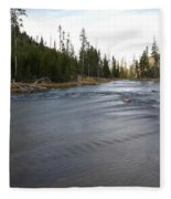 Gibbon River Fleece Blanket
