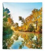 Gibralter Mi Waterway Fleece Blanket