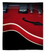 Gibson Es-335 Electric Guitar Fleece Blanket