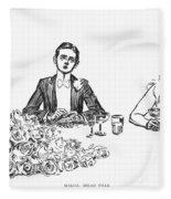 Gibson: Making Bread Pills Fleece Blanket