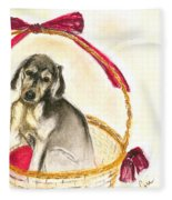 Gift Basket Fleece Blanket