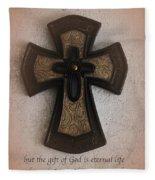 Gift Of Life Fleece Blanket