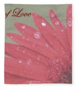 Gift Of  Love Fleece Blanket