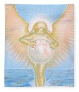 Gift Of The Golden Goddess Fleece Blanket