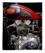 Gilera Saturno Engine 2 Fleece Blanket