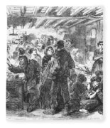 Gin Mill: London, 1861 Fleece Blanket