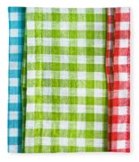 Gingham Fleece Blanket