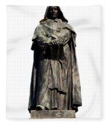 Giordano Bruno Fleece Blanket