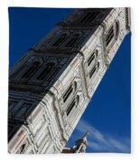 Giotto Fantastic Campanile - Florence Cathedral - Piazza Del Duomo - Italy Fleece Blanket