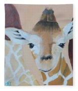 Giraffe Baby Fleece Blanket