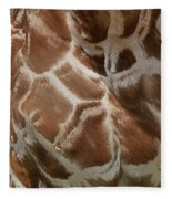 Giraffe Patterns Fleece Blanket
