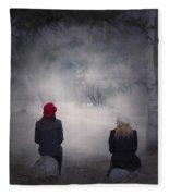 Girlfriends Fleece Blanket
