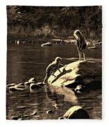 Girlfriends Sepia Fleece Blanket