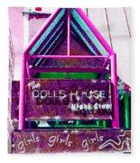 Girls Girls Girls Fleece Blanket