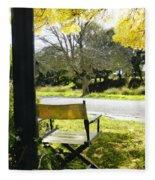 Giving Nature Direction  Fleece Blanket