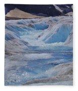 Glacial Meltwater 2 Fleece Blanket
