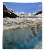 Glacial Meltwater 3 Fleece Blanket