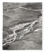 Glacial Rivers Fleece Blanket