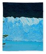 Glaciar Perito Moreno - Patagonia Fleece Blanket