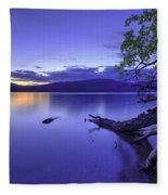 Glacier Blue Fleece Blanket