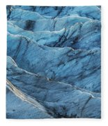 Glacier Blue Fleece Blanket