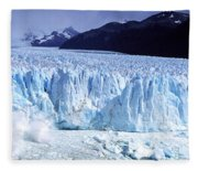 Glacier, Moreno Glacier, Argentine Fleece Blanket