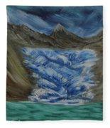 Glacier To Ocean Fleece Blanket